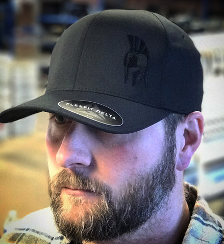 Blackout Flexfit Delta Cap