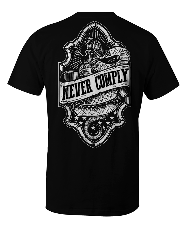 PRE-SALE: Never Comply