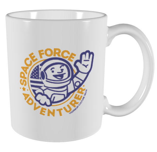 PRE-SALE: Space Force Adventurer Mug