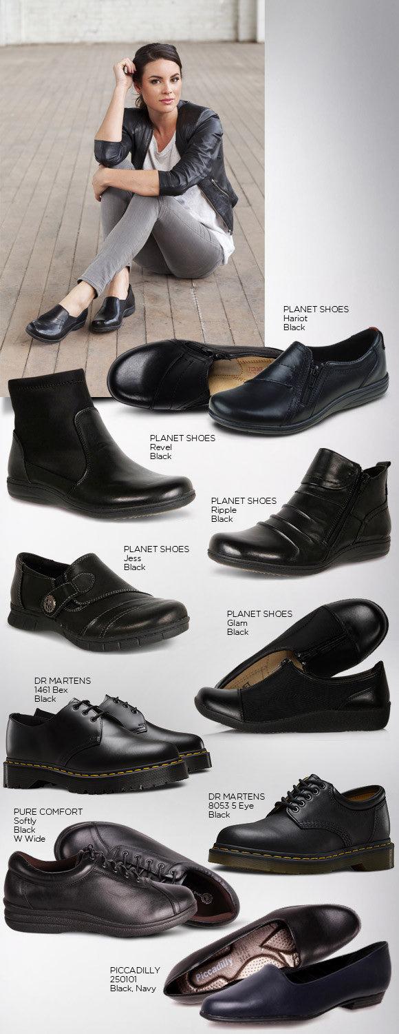 FINDING COMFORTABLE WORK SHOES