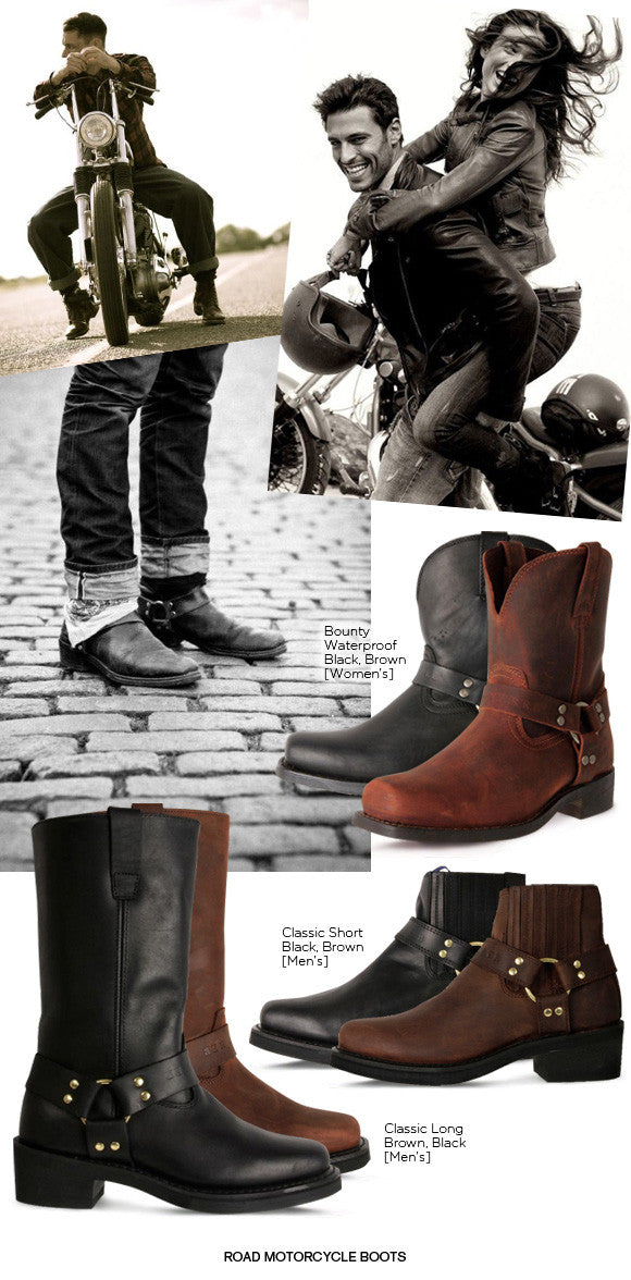 3feba889d16 INTRODUCING JOHNNY & JENNY REB MOTORCYCYLE BOOTS | TheShoeLink
