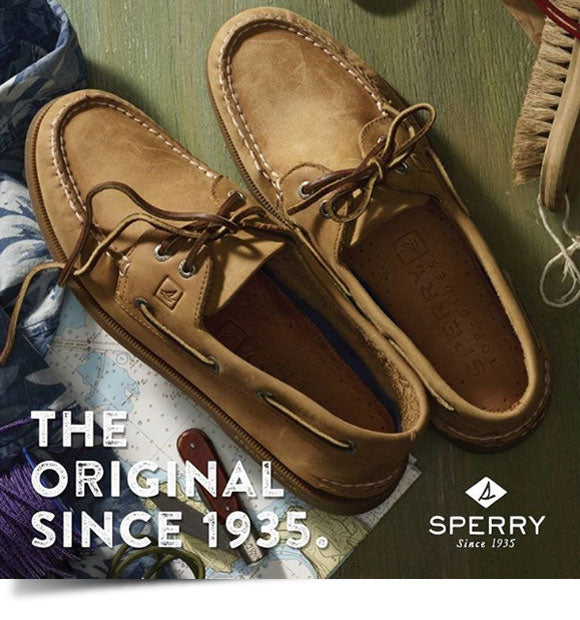 Sperry Top-Sider leather boat shoes