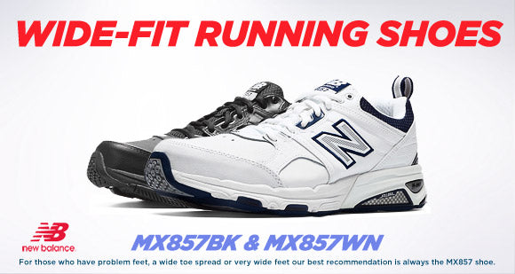 Buy 2E, 4E and 6E Wide Fitting Shoes By New Balance