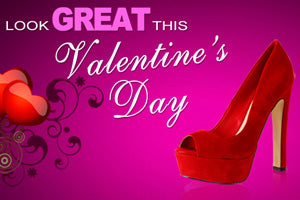 Valentine shoes