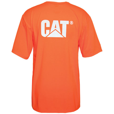 HI VIS TRADEMARK POCKET TEE 1510499 ORANGE