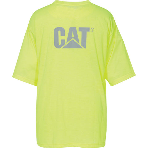 HI VIS TRADEMARK POCKET TEE 1510499 YELLOW