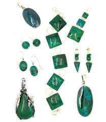 Chrysocolla Jewellery Collection
