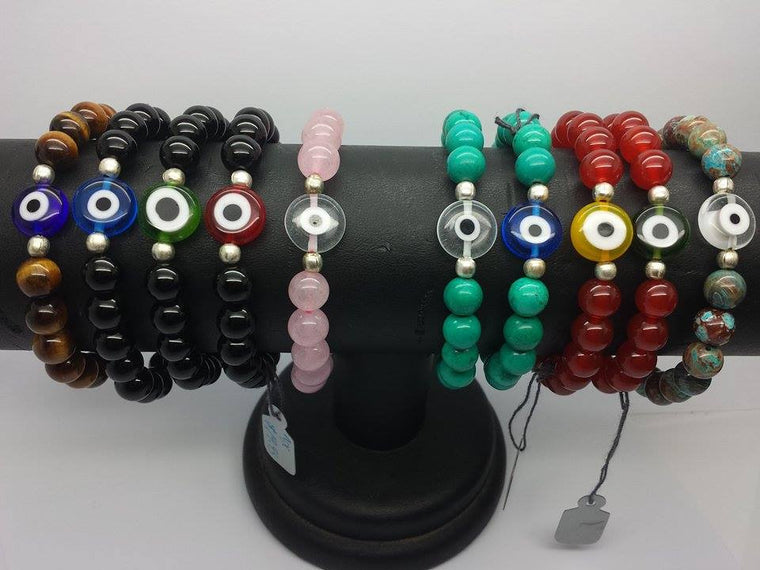 Evil Eye Stretch Bracelet