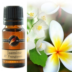 Jasmine & Frangipani Fragrance Oil | Fragrance Oil | Buckly & Phillip's | Australian Made | Ideal for use in oil burners, pot pourri & home fragrancing | Crystal Heart Australian Crystal Superstore since 1986 |