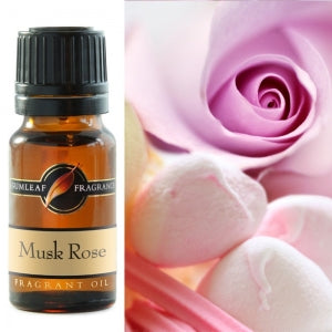 Musk Rose Fragrance Oil | Fragrance Oil | Buckly & Phillip's | Australian Made | Ideal for use in oil burners, pot pourri & home fragrancing | Crystal Heart Australian Crystal Superstore since 1986 |