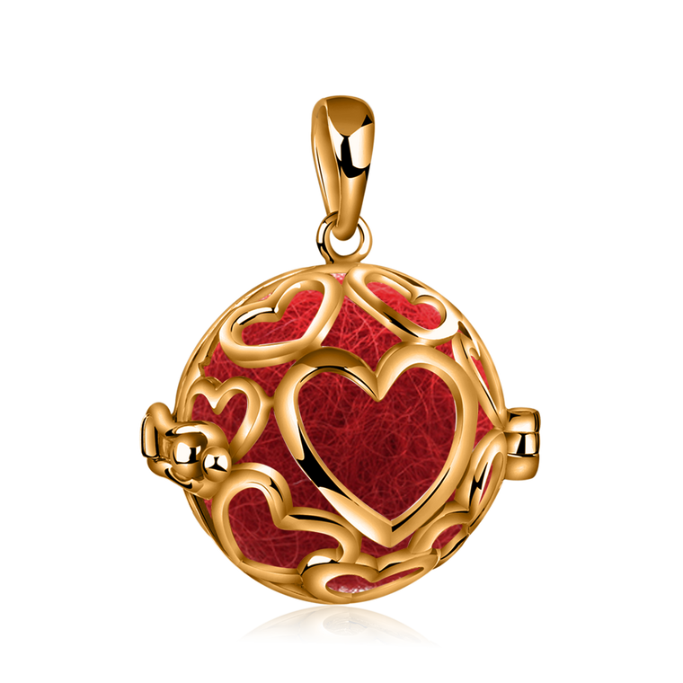 Pomander Plated Heart
