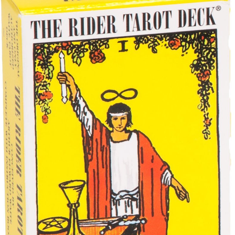 Rider Waite Tarot is the most popular deck in the world | easy to understand images but full of symbology | 78 cards, Major and Minor Arcana | Crystal Heart Melbourne Australia since 1986