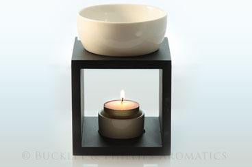 Ceramic & Wooden Oil Burner
