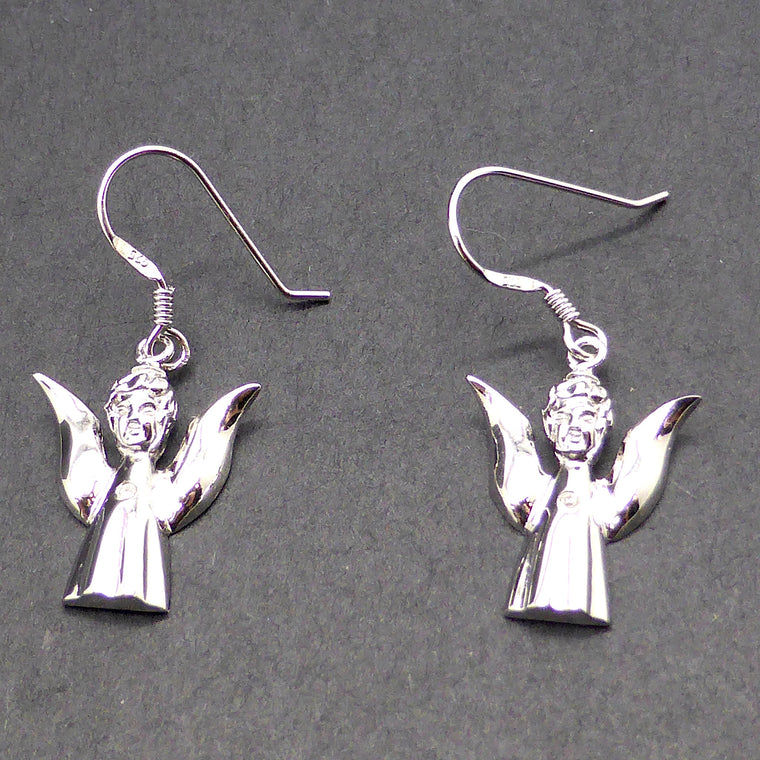Earring Angel Silver Diamond