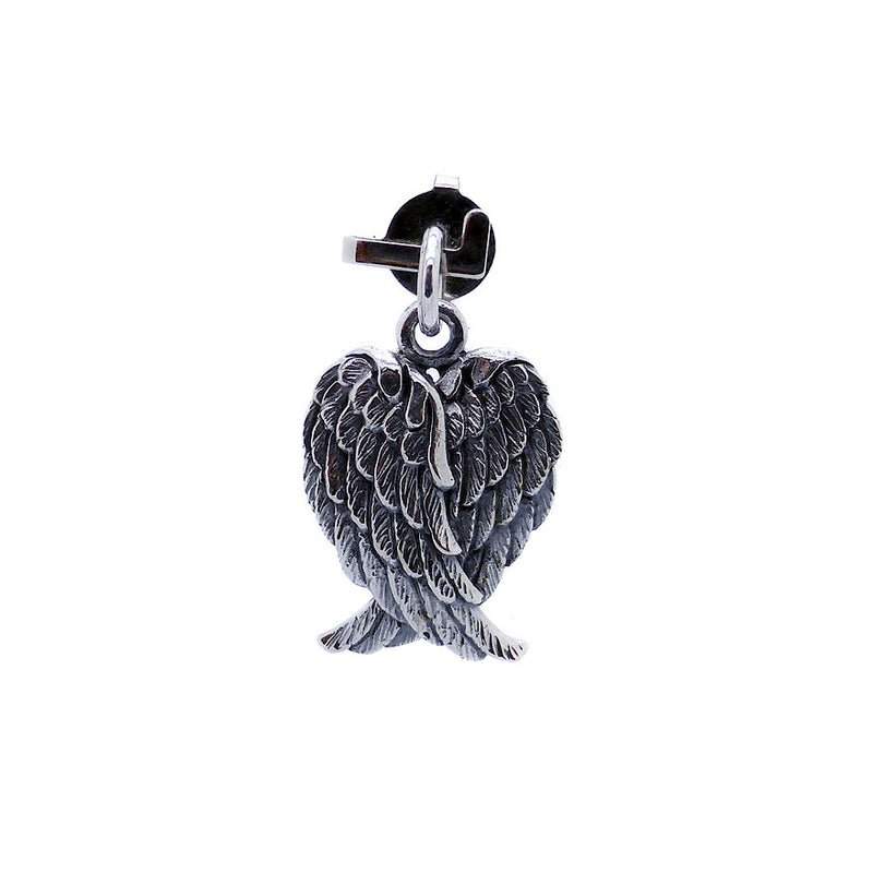 Angel Wings Pendant or Charm | 925 Sterling Silver | Crystal Heart Melbourne Australia since 1986Angel Wing Crystal Heart