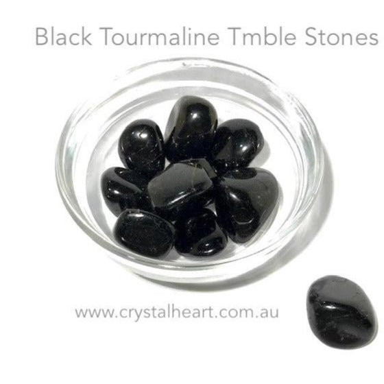 Black Tourmaline Tumble