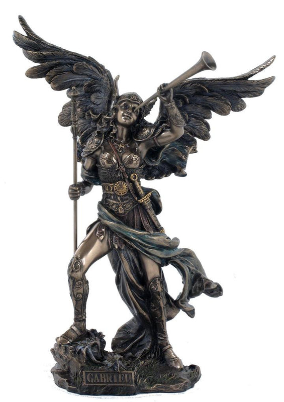 Archangel Gabriel Bronze Finish Australia