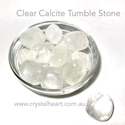 Clear Calcite Tumble