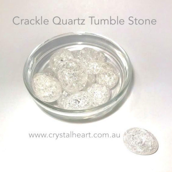 Crackle Quartz Tumble