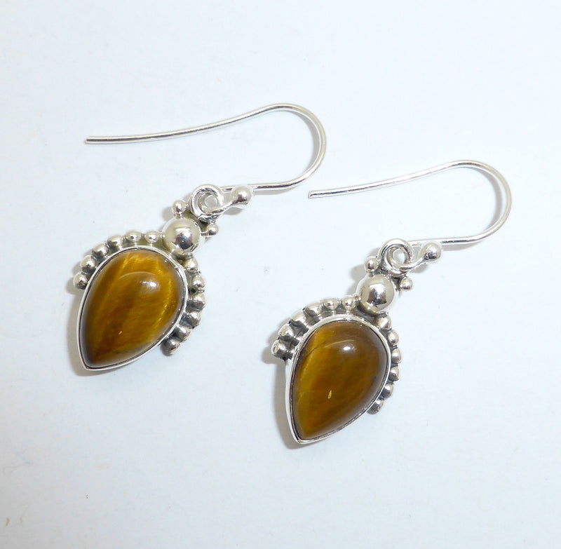 Earring Tiger's Eye