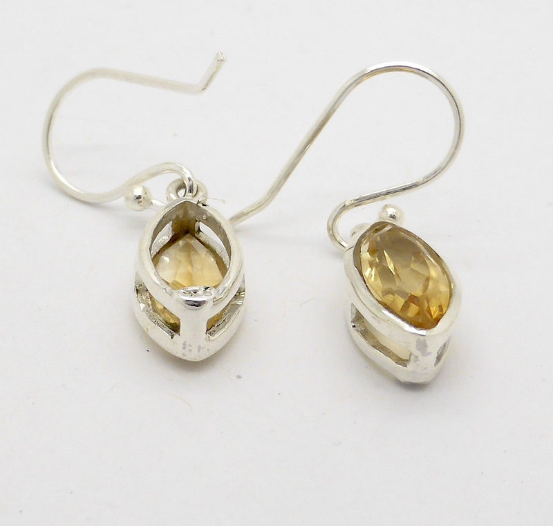 Citrine Earrings Petite Marquise
