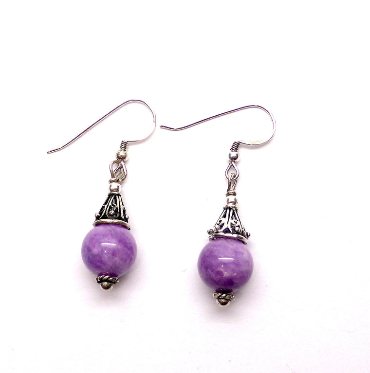 Earring Charoite | 925 Silver