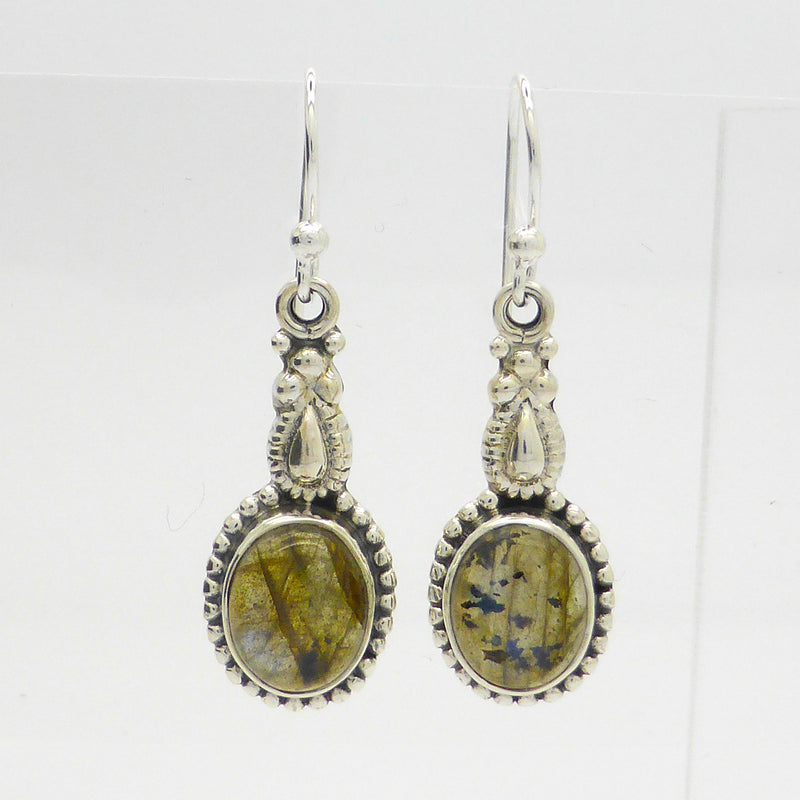 Labradorite Earrings | 925 Silver