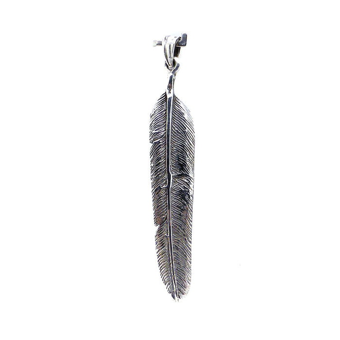Feather Small Crystal Heart