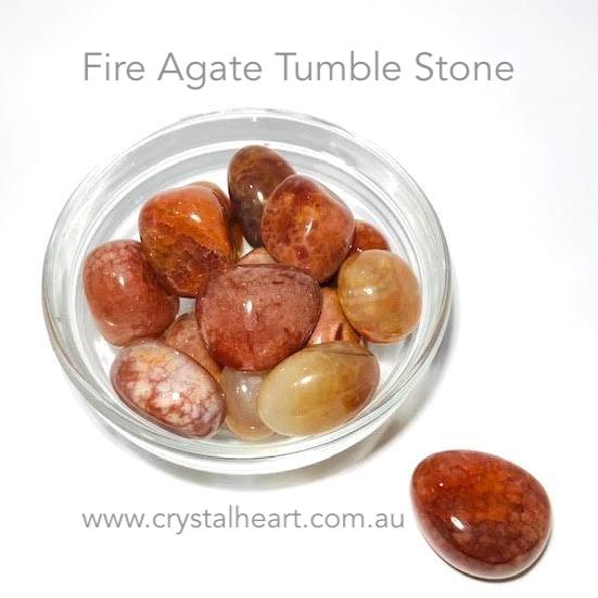 Fire Agate Tumble