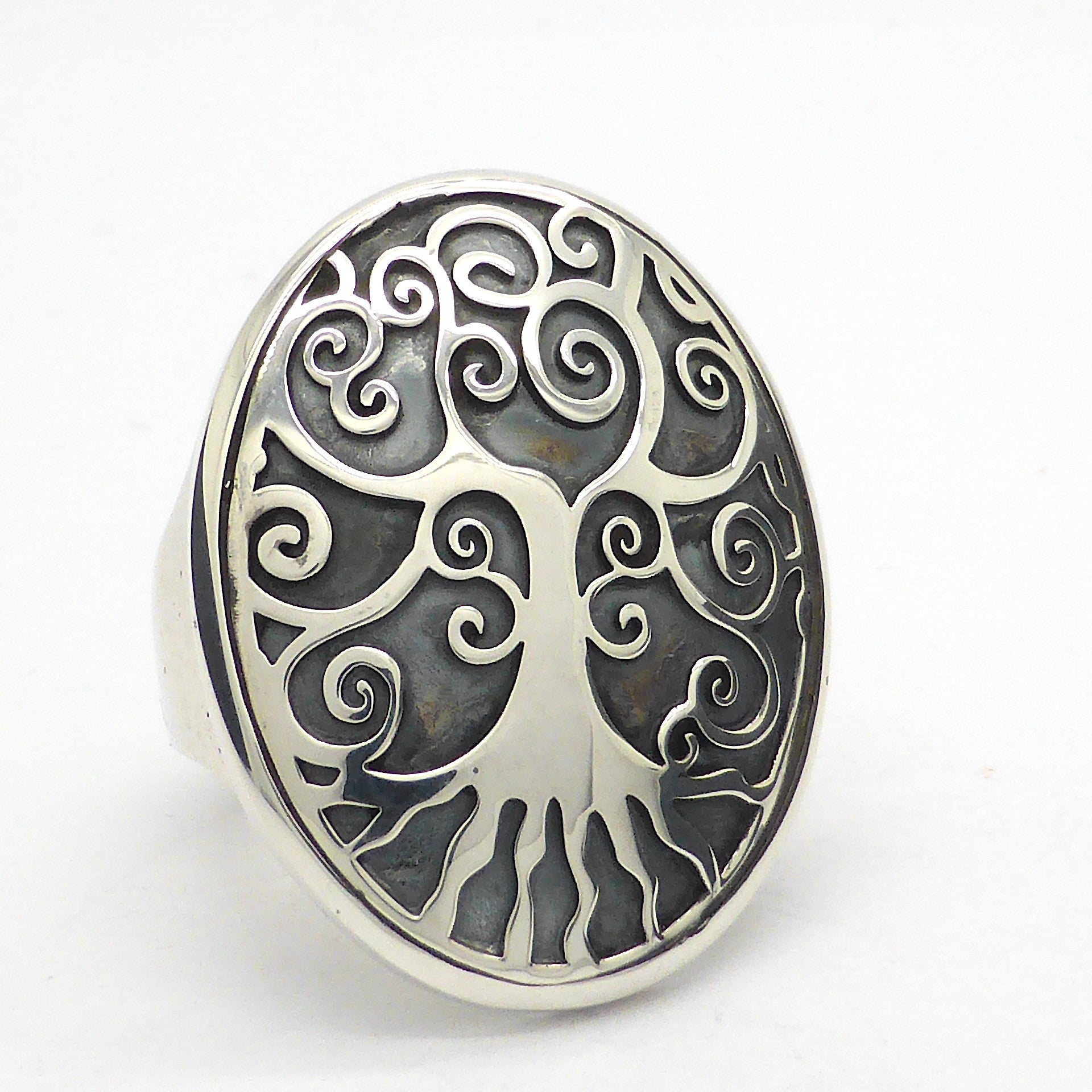 Tree Ring | Italian Design | 925 Sterling Silver | depth and magic | Self adjustable ring size | Australian Supplier | Melbourne Australia