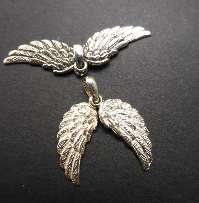 Angel Wings Pendant | 925 Silver kp1