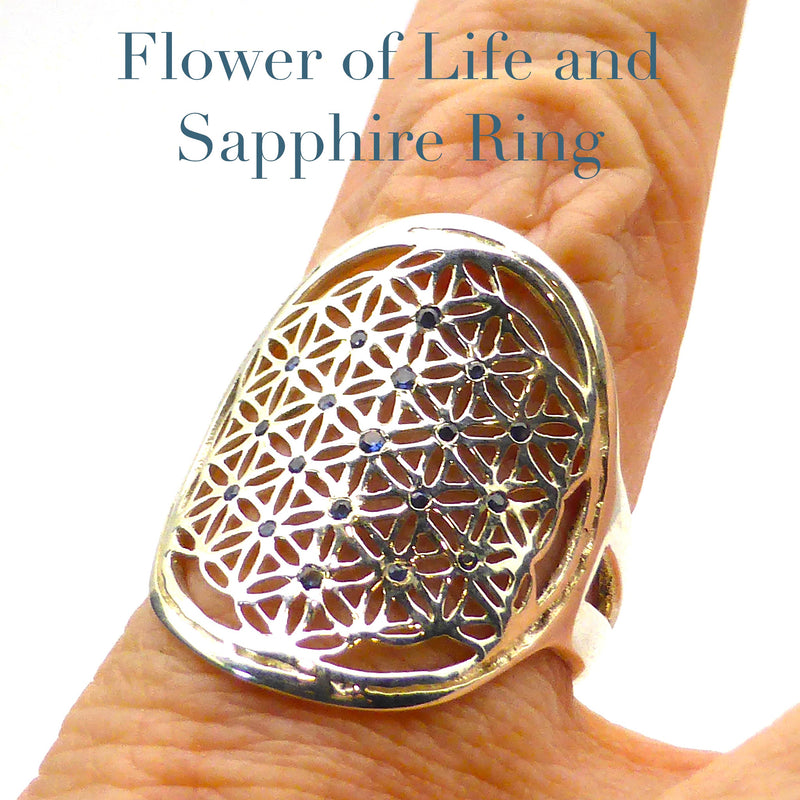 PB Flower of Life Ring