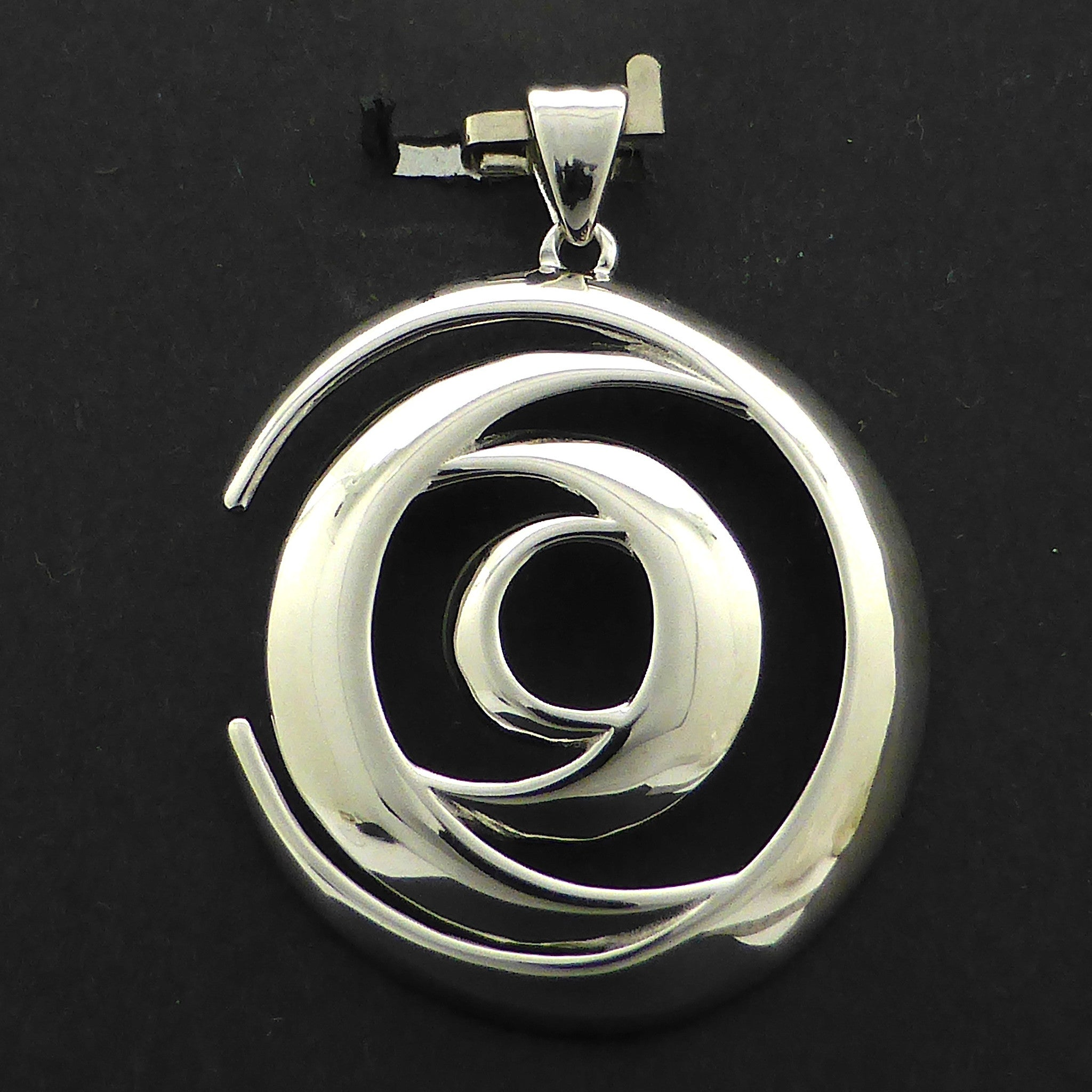 Moon Cycle Pendant | 925 Sterling Silver | Shows phases of the Moon | Crystal Heart Melbourne Australia since 1986