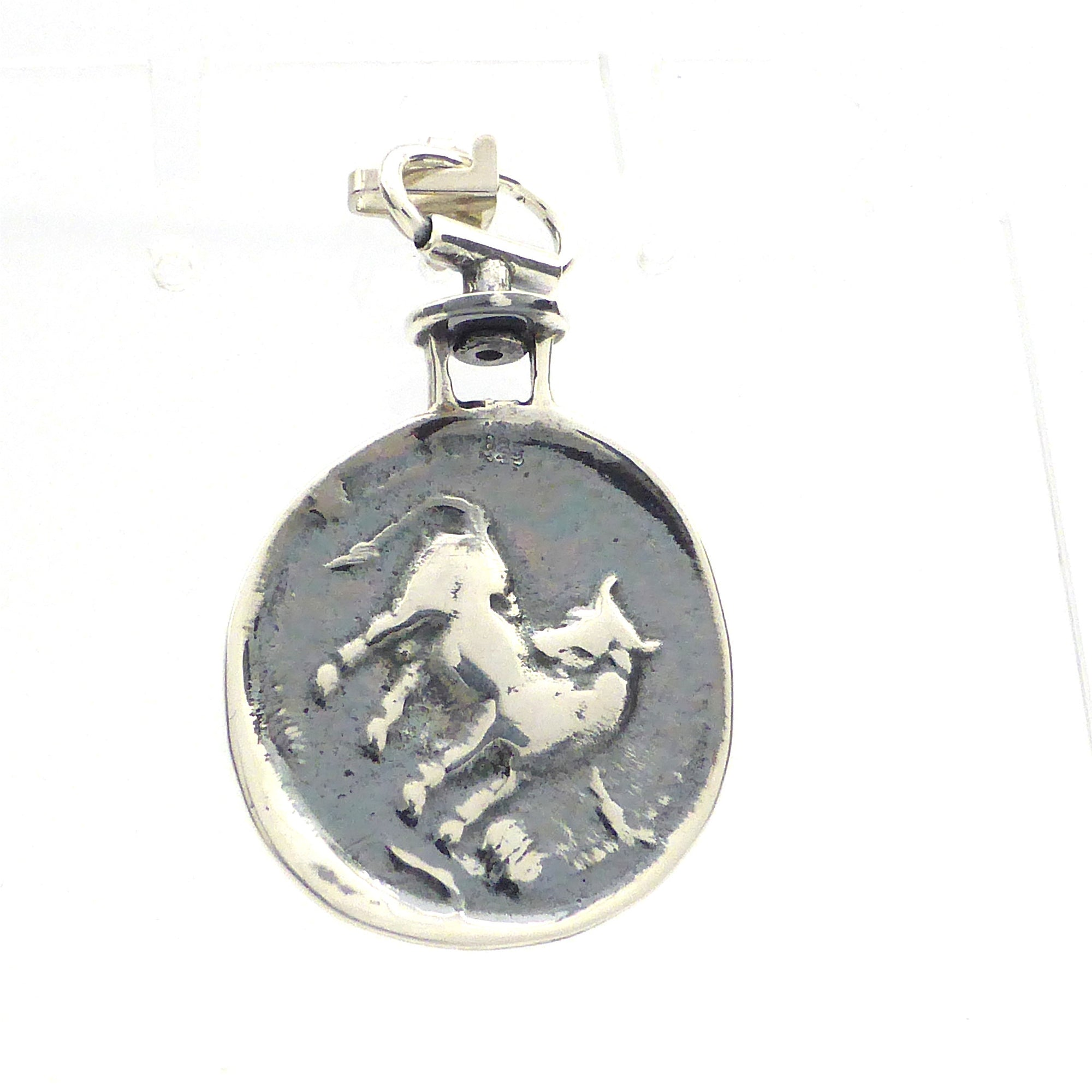 men coin reproduction women fullxfull steel for and greek listing bee keychain ancient pendant il