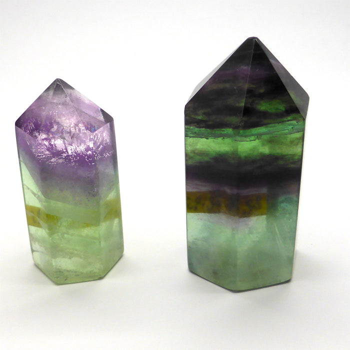 Rainbow Fluorite Generator | natural crystal gemstone | Capricorn Pisces Star Stone | Crystal Heart Melbourne since 1986