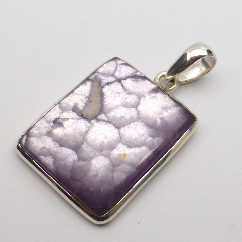 Lepidolite Purple Sky Pendant | Authentic Stone | 925 Sterling Silver | Peaceful Warrior | Libra | Crystal Heart Melbourne Australia since 1986