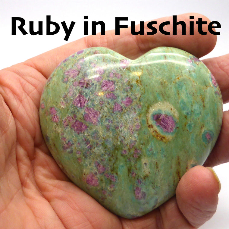 Heart Ruby in Fuschite 2