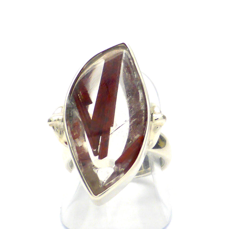 Red Epidote Quartz Ring RKT4