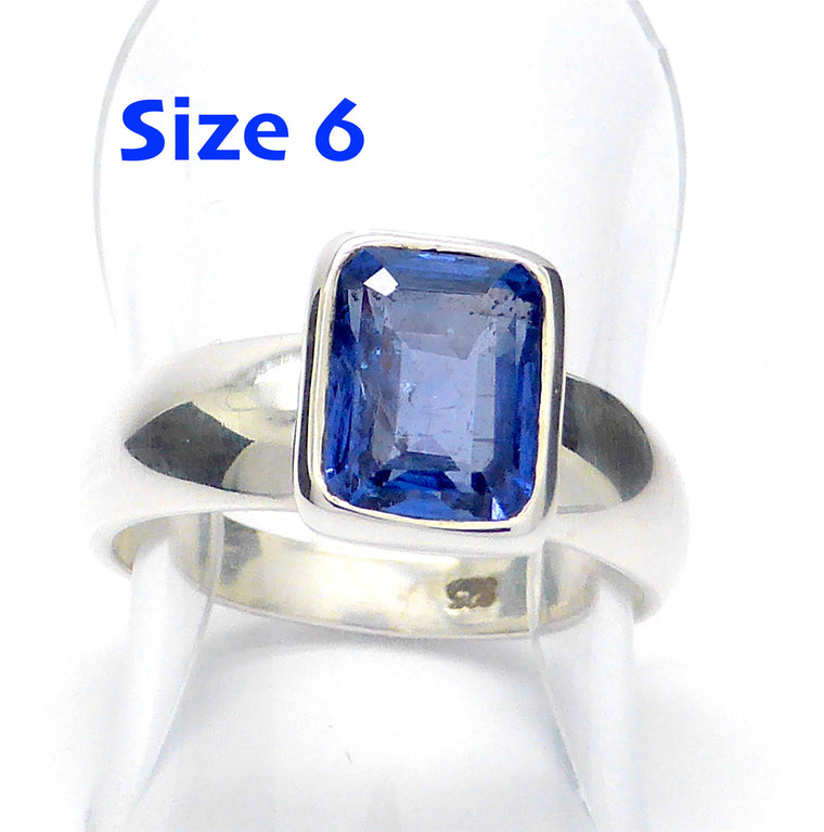 Tanzanite Ring | Faceted Oblong | 925 Silver g3
