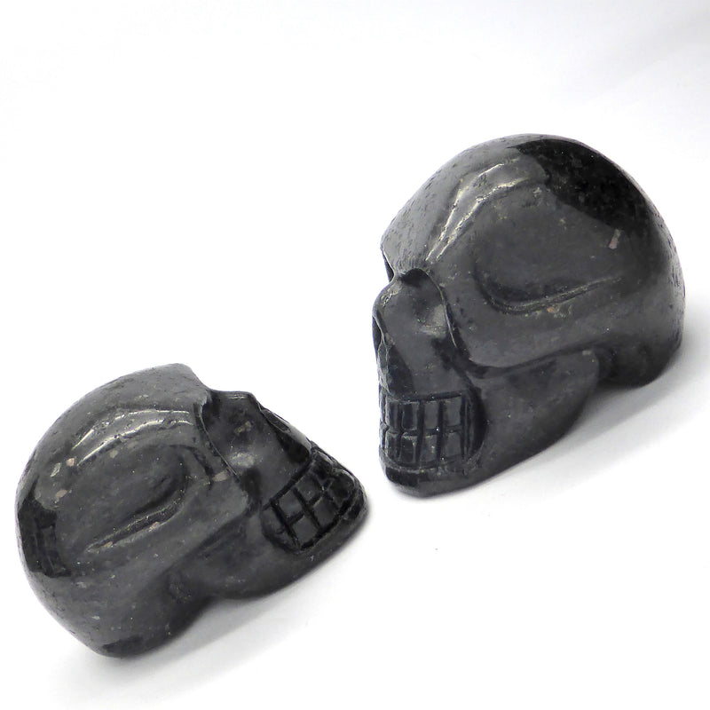 Nuumite Crystal Skull | Hand Carved | heal & balance ancient memories | Crystal Heart Melbourne Australia since 1986