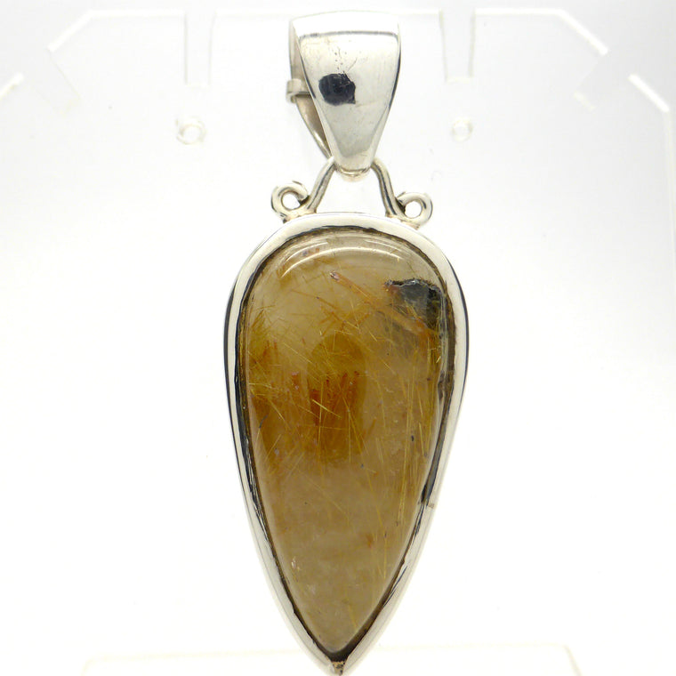 Rutilated Quartz Pendant KA2
