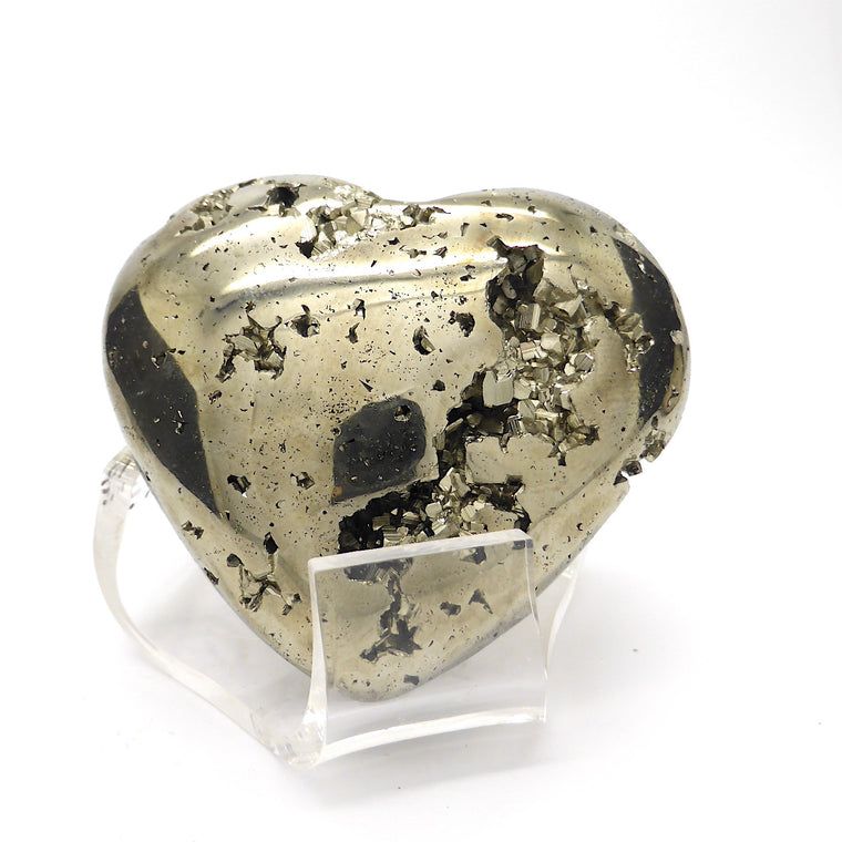 Pyrites Heart, medium