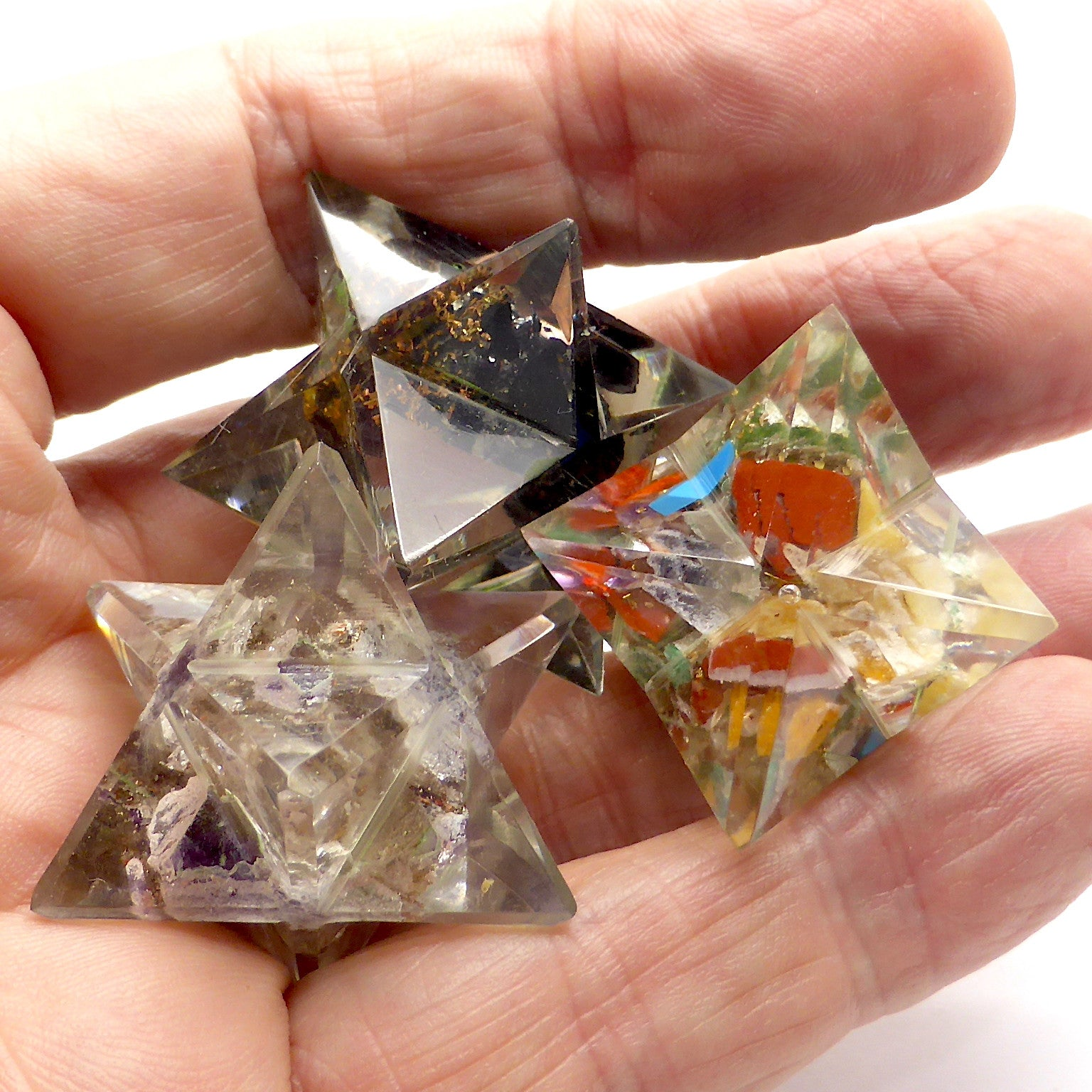 Orgone & Crystal Merkabahs | Heal Unblock Balance | Attract Orgone Energy | Sphere of superconscious energy | Crystal Heart Melbourne Australia since 1986