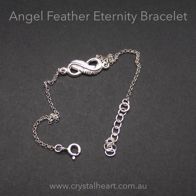 Bracelet Angel Feather Eternity