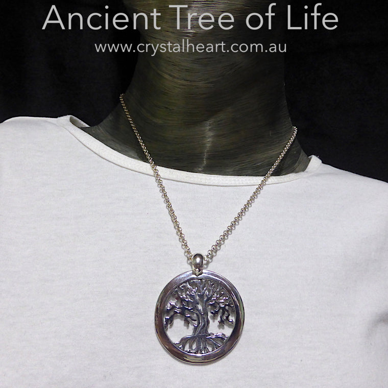 Tree of Life Pendant, 925 Silver, dktol