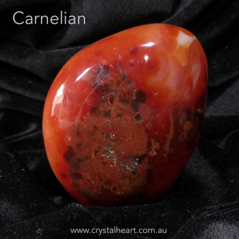 Carnelian Freeform Meditation piece