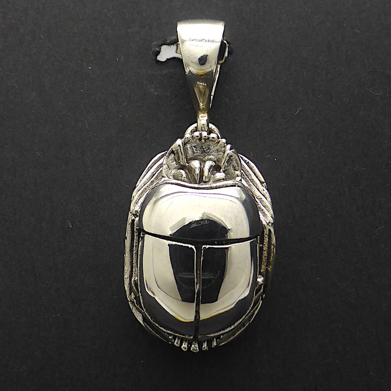 Scarab Pendant, 925 Sterling Silver kt