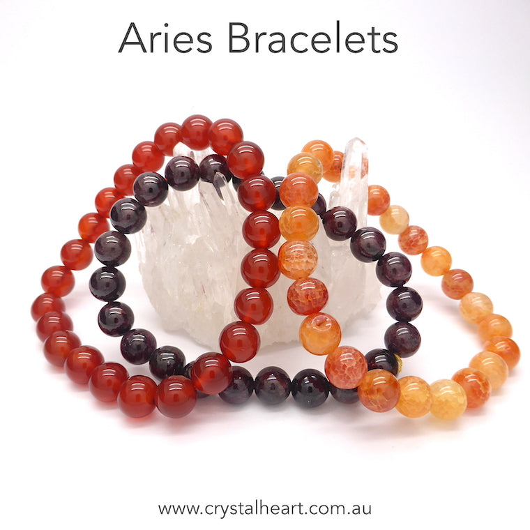 Aries Zodiac Bracelet Set