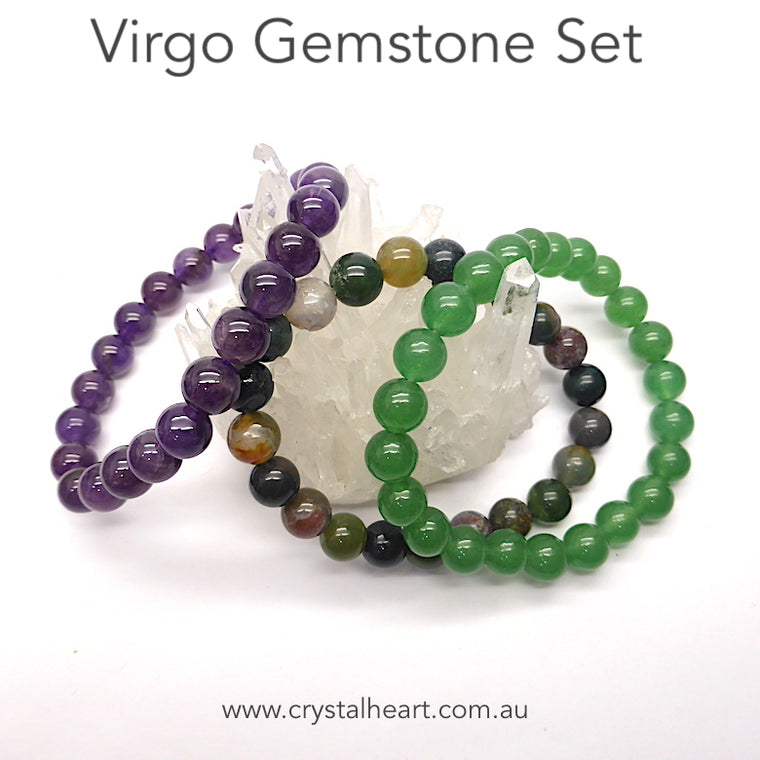 Virgo Zodiac Bracelet Set