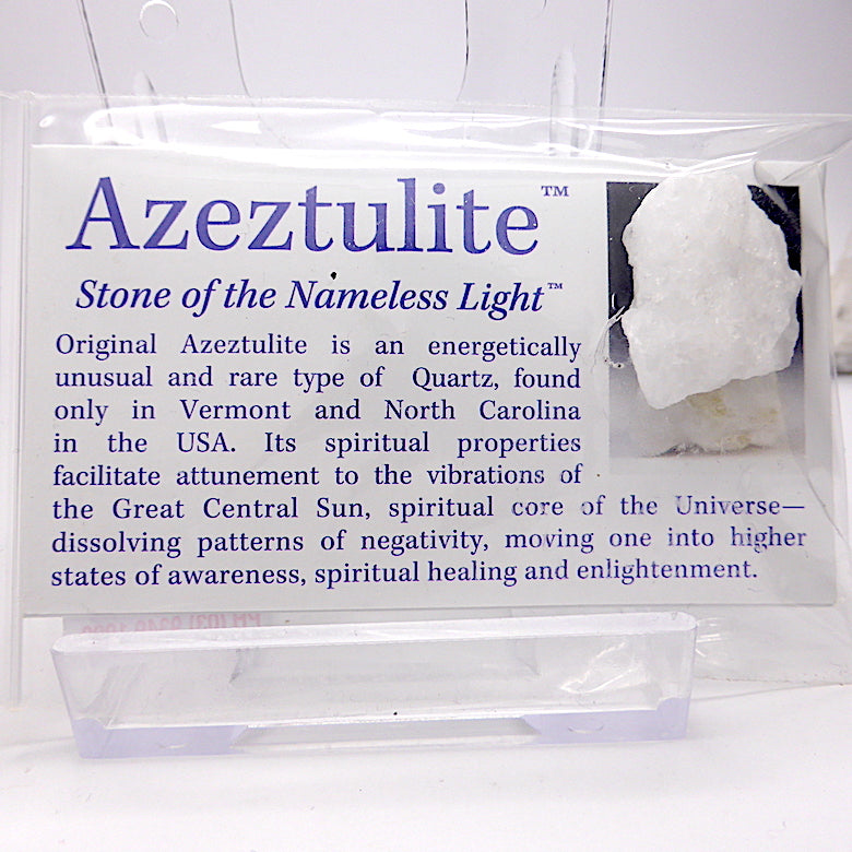Robert Simmons | Azeztulite Nugget | Genuine Gems from Crystal Heart Melbourne Australia since 1986